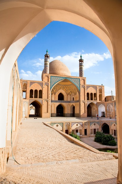 Agha Bozorg  school and mosque in Kashan