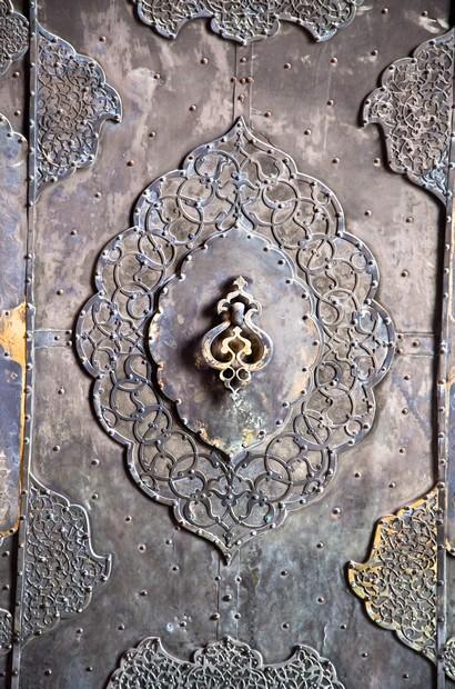 Bronze antique drawer door handle , Esfahan,Iran