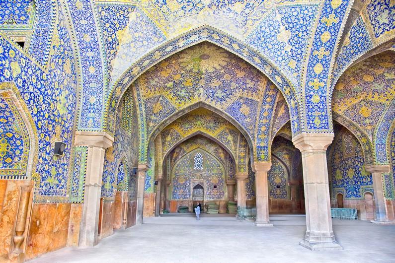 Arcade de la Mosquée du Chah