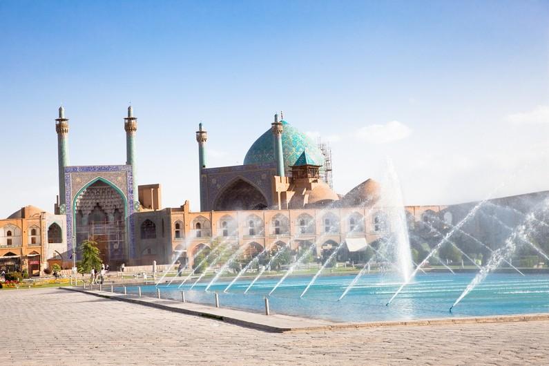 Fontaines de la Place Naqsh-i Jahan