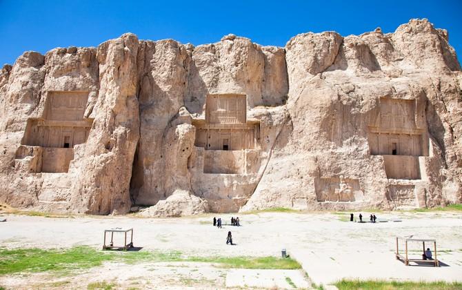 Tombes des rois persans