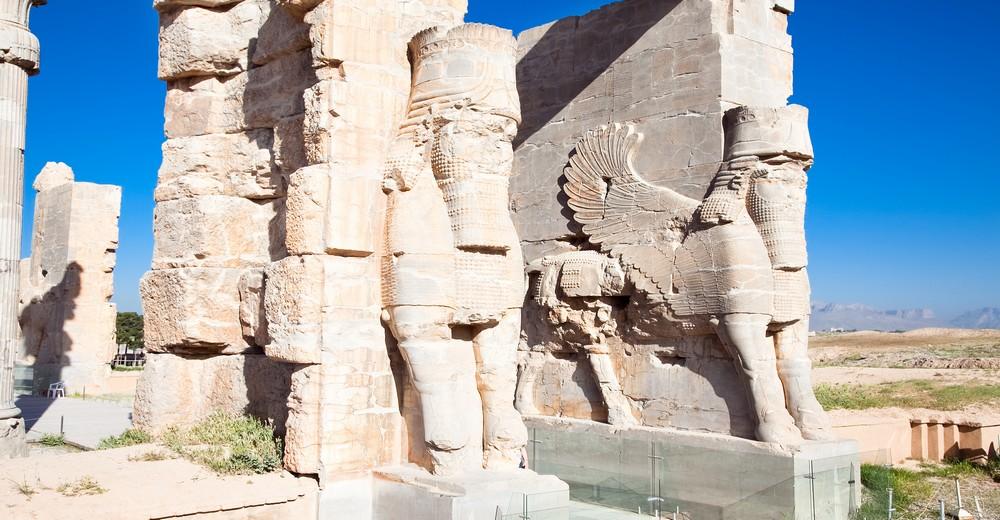 Entrée du site de Persepolis