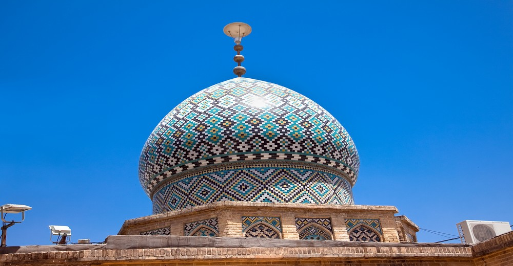 Dôme de la Mosquée Nasir al-Mulk