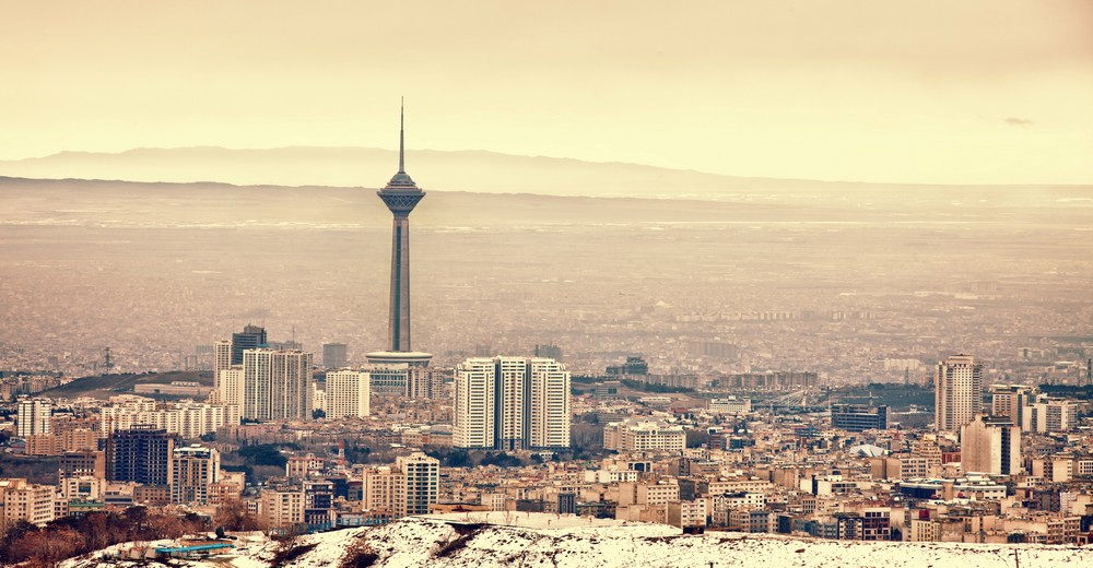 Teheran panoramique