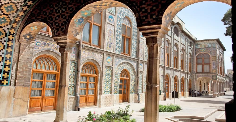 Cour du Palais du Golestan