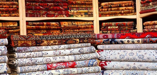 Boutique de tapis persan