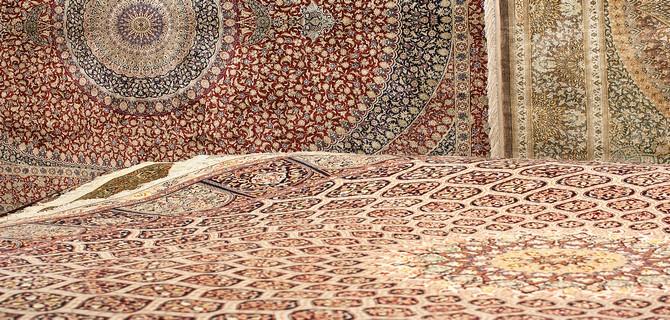 Magasin de tapis persans