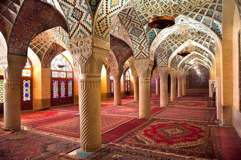 Salle de prière - Mosquée Nasir Al-Mulk