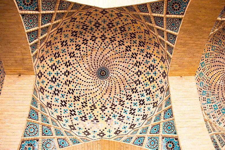 Plafond de la Mosquée Nasir Al-Mulk