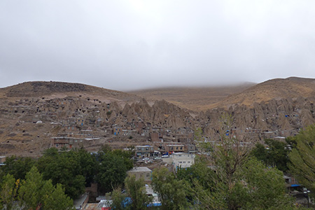 Maisons dans la pierre en Iran