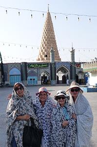 Groupe Mme Sarda en Iran