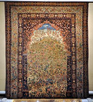 Tapis Isfahan Musée du Tapis Téhéran